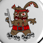 Button Terrorhase